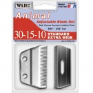 Wahl Adjustable #30-15-10 Standard Extra Wide Clipper Replacement Blade