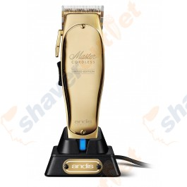 ANDIS MLC CORD/ CORDLESS LITHIUM-ION MASTER CLIPPER - LIMITED EDITION GOLD