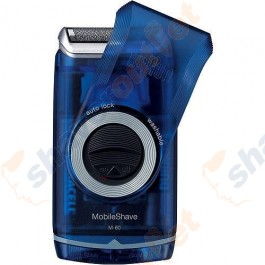 Braun M60 MobileShave Battery-Operated Travel Shaver
