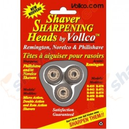 Vollco Sharpening Heads for Select Norelco and Remington Models