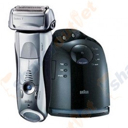 Braun 790cc Series 7 Pulsonic Shaver with Clean and Charge Base