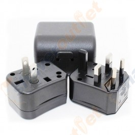 Compact Universal International Plug Adapter Kit