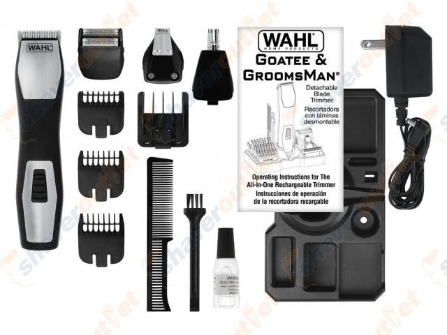 wahl groomsman pro. Black Bedroom Furniture Sets. Home Design Ideas