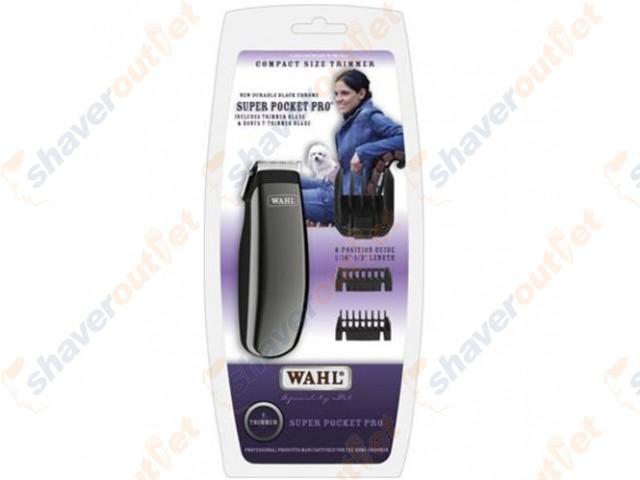 wahl pocket pro trimmer instructions