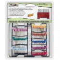 Wahl '5 in 1'  8-Piece Stainless Steel Attachment Guide Comb Set