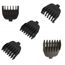 5pc Snap on Comb Set Compatible with Remington MB-2500, PG-6020, PG-6015, PG-6025, PG-6250, VPG6530, MB6550