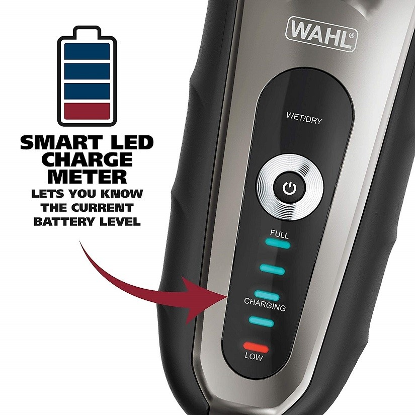 Wahl 7061L Smart Shave Rechargeable Wet/Dry Shaver